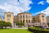 Norwegian Parliament building — Stock Photo