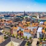 View of Copenhagen panorama — Stock Photo #59597947