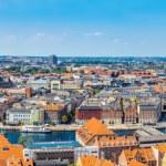 View of Copenhagen panorama — Stock Photo #59598065