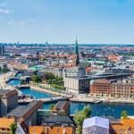 View of Copenhagen panorama — Stock Photo #59598067