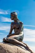 Sculpture of Little Mermaid — Stock Photo