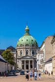 Mramorový kostel v Kodani — Stock fotografie
