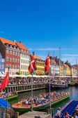 Berömda stadsdelen Nyhavn — Stockfoto