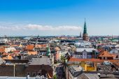 Copenhagen City, Denmark — Stock Photo