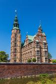 Copenhagen Rosenborg  castle — Stock Photo