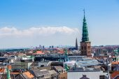 Copenhagen City, Denmark — Foto de Stock
