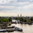 Panoramic view of Amsterdam — Stock Photo #59739343