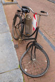 Brocken bicycle in Amsterdam — Stock Photo
