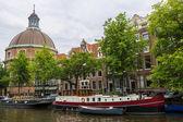 Lutheran Church in Amsterdam — Stock Photo