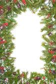 Noel arka plan. havva çerçeve — Stok fotoğraf