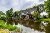 Zaanse Schans in Holland — Stockfoto