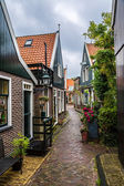 Traditional houses in Holland — Stock Photo