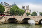 Seine and Notre Dame — Stock Photo