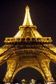 Eiffel Tower at nigh — Foto Stock