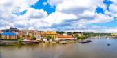 Panoramic view of Prague — Stock Photo