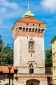 St. Florian's gate in Krakow — Stock Photo