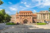 Barbican in Krakow, Poland — Stock Photo
