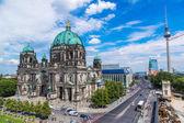 Utsikt över Berlins katedral — Stockfoto