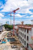 Building site of Berlin — Stock Photo