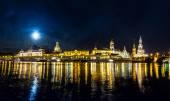 Dresden at night — Стоковое фото