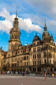 Dresden architecture and buildings — Stockfoto
