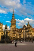 Dresden architecture and buildings — Stock Photo