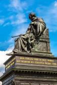 Sculpture of Friedrich August — Stock Photo