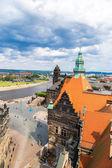 Panoramic view of Dresden — Stock Photo