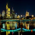 Frankfurt am Main at night — Stock Photo #61824811