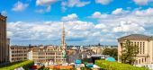 Panorama of Brussels — Stock Photo