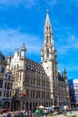 The Grand Place in Brussels — Stock Photo