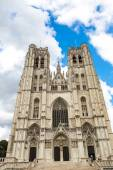 Brussels Michel  Cathedral — Stock Photo