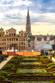 Cityscape of Brussels — Stock Photo
