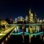 Frankfurt am Main at night — Stock Photo #62195107