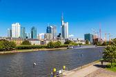 Financial district in Frankfurt — Photo