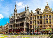 The Grand Place in Brussels — Foto de Stock