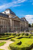 Královský palác v bruselu — Stock fotografie