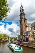 Westerkerk in Amsterdam — Stock Photo