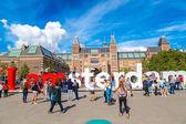 Rijksmuseum Amsterdam museum — Stock fotografie