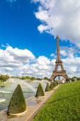 在巴黎的埃菲尔铁塔 — Stock fotografie