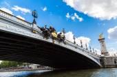 Pont Alexandre in Paris — Stock Photo
