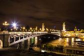 Bridge of the Alexandre III — Foto de Stock