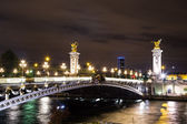 Bridge of the Alexandre III — Stock Photo