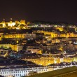 View of Lisbon at nigth — Stock Photo #64112287