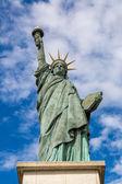 Famous Statue of liberty — Stock Photo