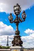 Bridge of Alexandre III in Paris — Stock Photo