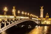 Bridge of the Alexandre III in Paris — Stock Photo