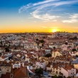 Aerial view of Lisbon — Stock Photo #65044493