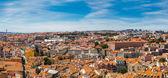 Panoramautsikt över lissabon — Stockfoto