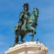 Statue of King Jose I in Lisbon — Stock Photo #65735175